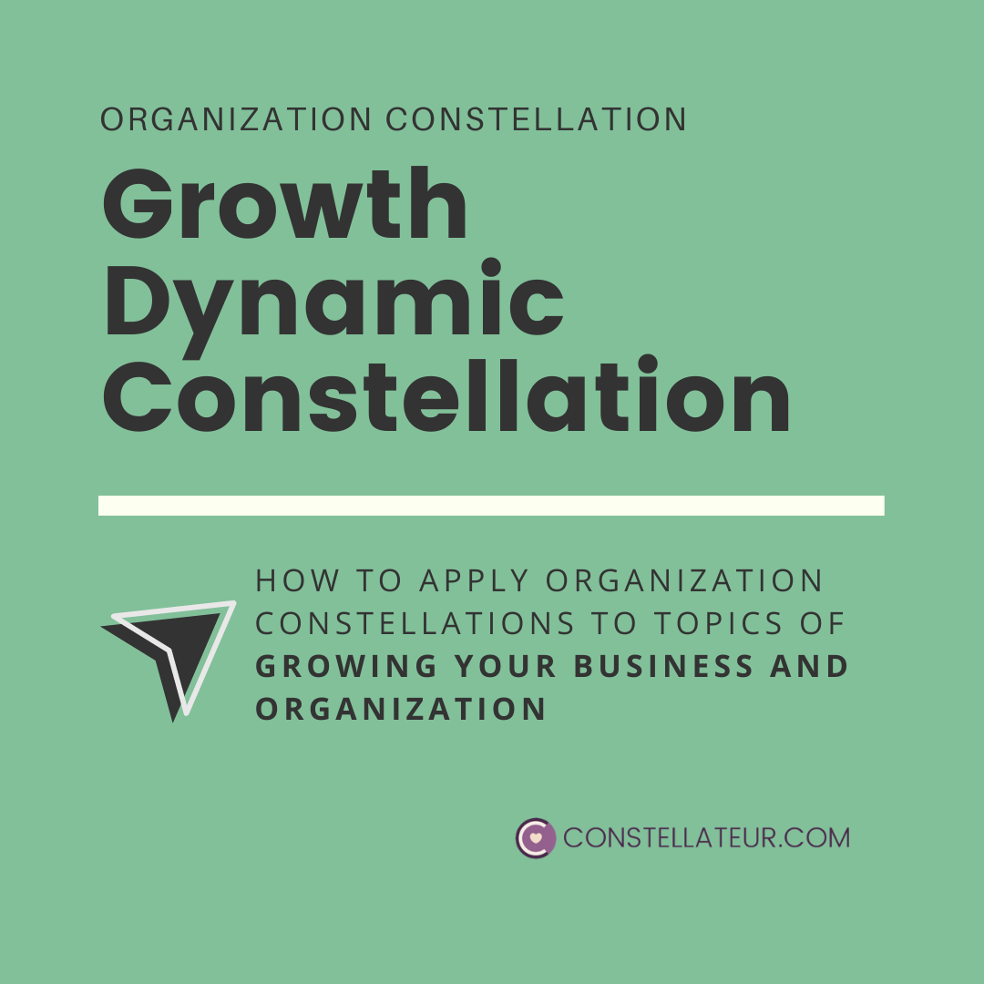 Growth Dynamic Organization Constellation