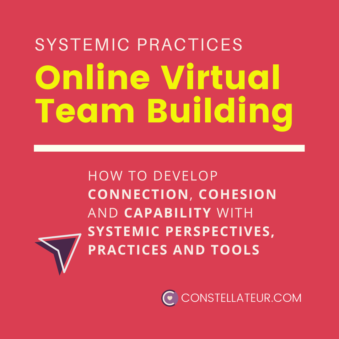 Online Virtual Team Building Systemic Best Practices Webinar with Tom Wittig Constellateur