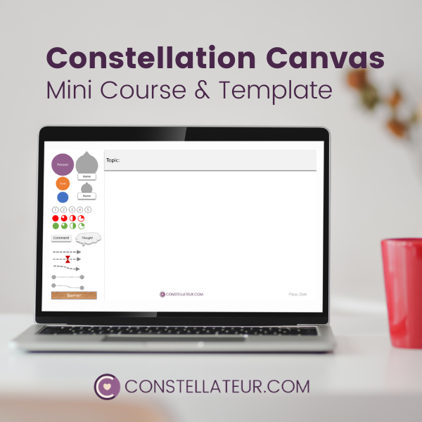 Constellation Canvas Template