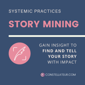 Story Mining with Systemic Insight