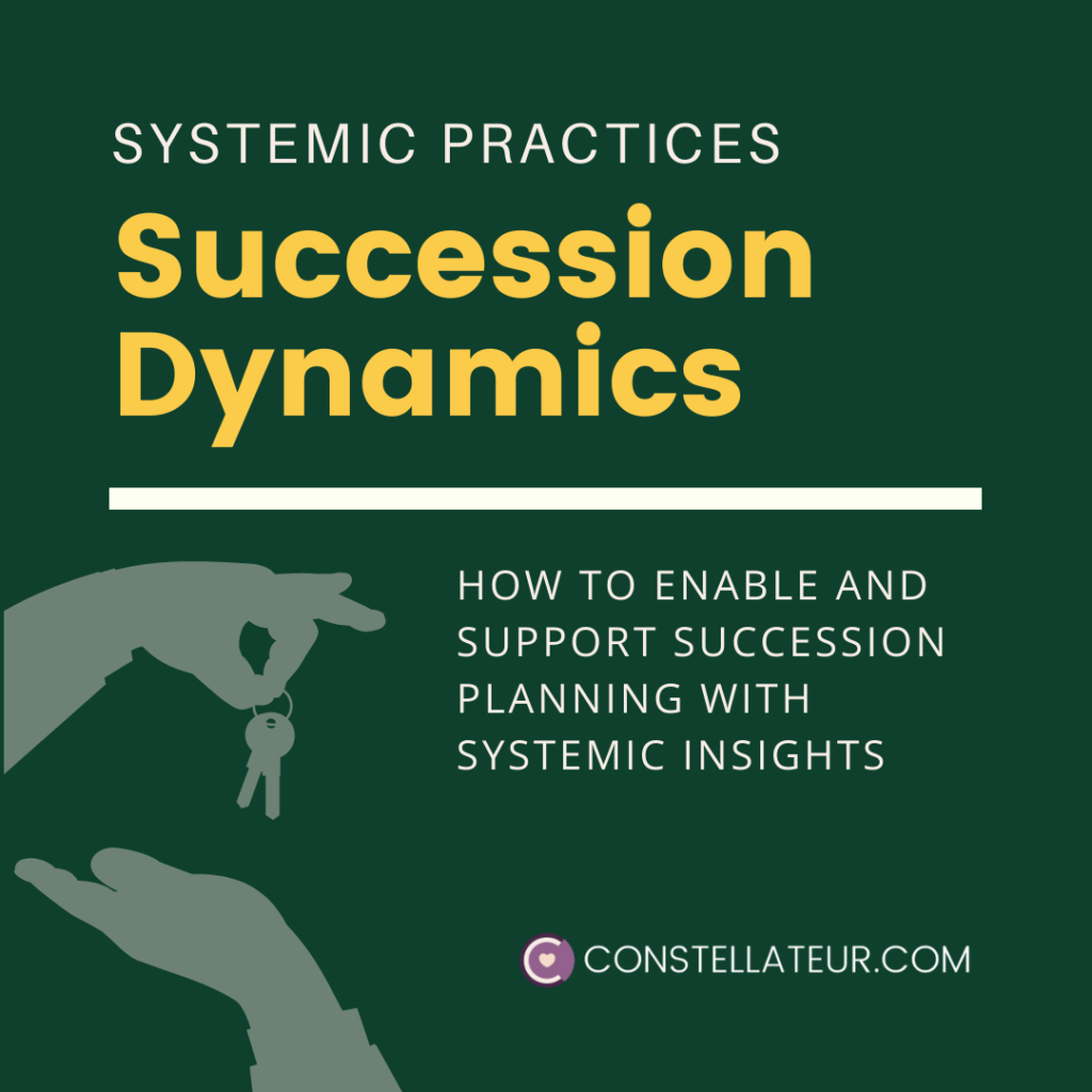 Succession Planning Dynamics