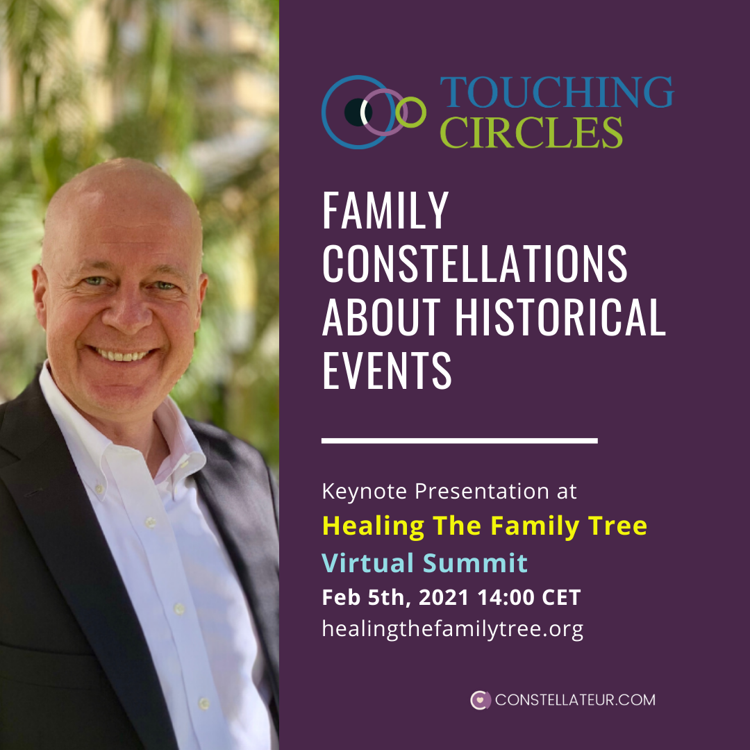 Keynote by Tom Wittig, Constellateur about Family Constellations for historical events