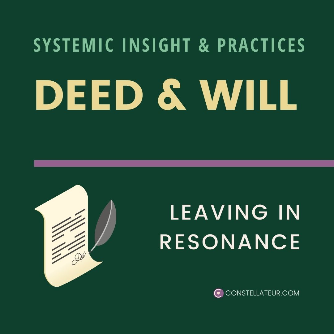 Inheritance Will and Deed